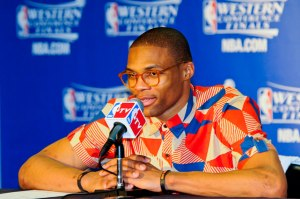 OKC Point Guard Russell Westbrook