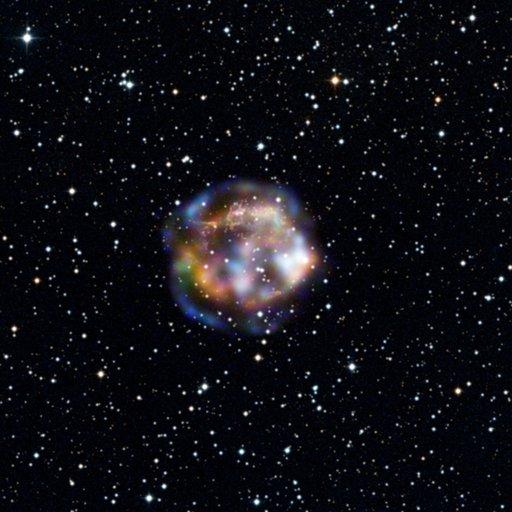 Massive Star Explosion Captured